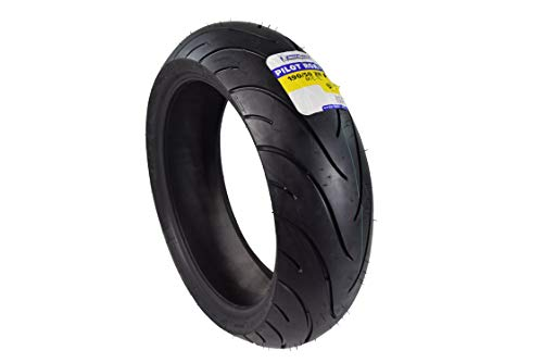 Michelin Pilot Road 2 Sport Touring Motorcycle Front and Rear Tires Radial Sport Bike Road II 190/50-17 (190/50ZR17 Rear)