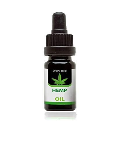 Daily Hemp Oil 30% & MCT oil 70% **LAB TESTED** Assists Anxiety & Pain Relief - Rich in Omega 3-6-9 Oils, Vitamins & Fatty Acids - 10ml (3000 M G)