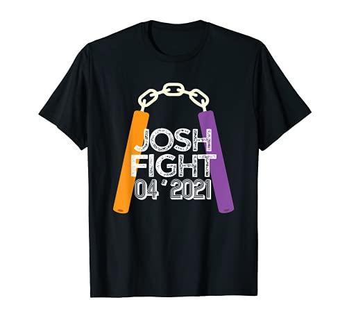 Josh Fight Pool Noodle Nunchucks The Best Josh Battle T-Shirt