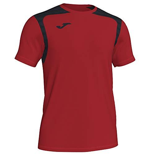 Joma Campeonato Corte de Mangas de Camisa V Camiseta, Hombre