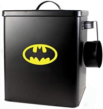 Batman SWEETF Secchio per cibo per cani Secchio sigillato per alimenti per animali domestici secchio per cibo per gatti a prova di umidit/à