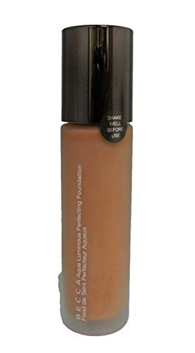 BECCA Aqua Luminous Perfecting Foundation- Deep Bronze, 1 Ounce by Becca Cosmetics