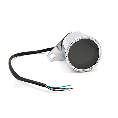 ZMMWDE Velocímetro Digital Universal para Motocicleta, odómetro LCD Retro, indicador de tacómetro Cafe Racer, Scooter, envío Directo A