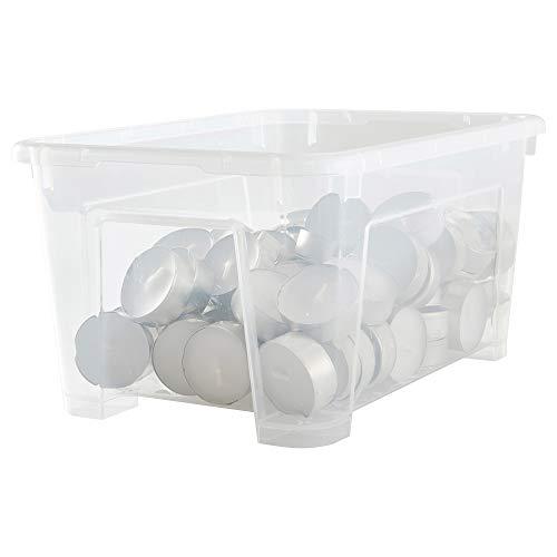 IKEA 701.029.72 - Caja para samla, transparente