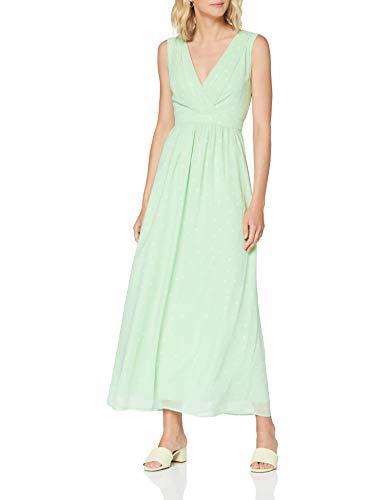 ESPRIT Collection Damen 040EO1E330 Kleid, 343/PASTEL Green 4, 40