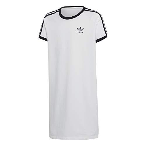 Vestido Adidas 3 Bandas Niña Blanco 164