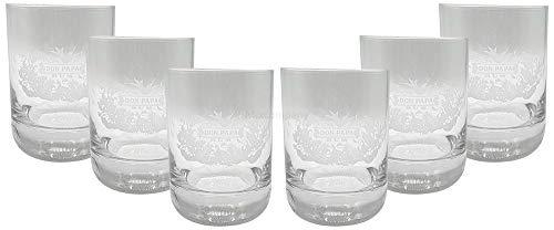 Don Papa Rum Tumbler Glas Gläser Longdrinkglas Set - 6 x Gläser Ron Bar Cocktail Longdrink