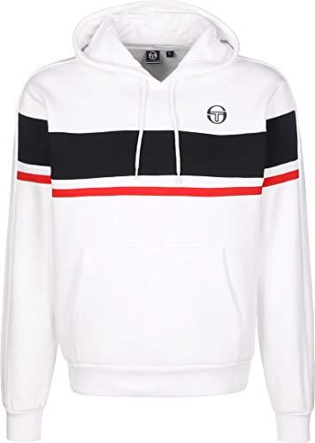 Sergio Tacchini Herren Foshan Sweatshirt, White/Navy, XL