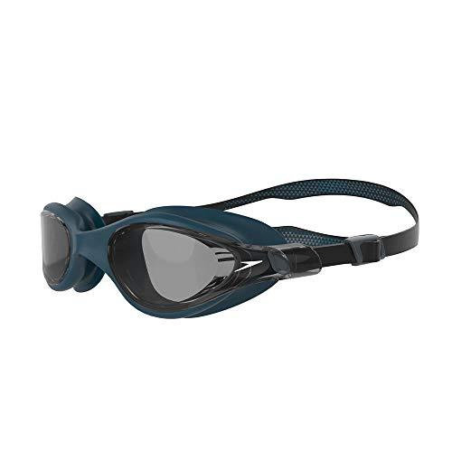 Speedo zwembril voor heren, zwart/nordic teal/rook, één maat