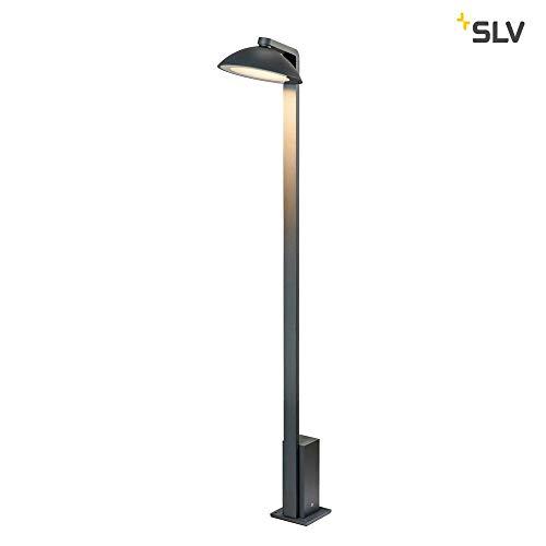SLV MALU Pole, LED Outdoor Stehleuchte, anthrazit, IP44, 3000K Floor lamp, Aluminium, 9.2 W