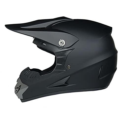 LGLE Motocross Casco MX Moto Casco, Casco Motocross Dot Homologado, Casco de Moto Cross Integral Infantil Hombre Adultos Casco de Bicicleta Helmet,L
