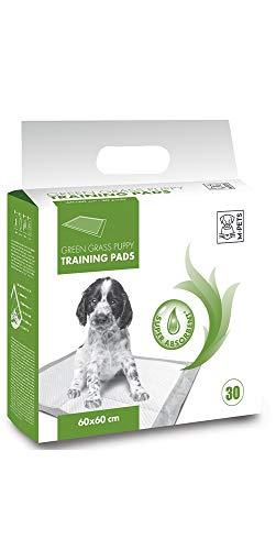 M-PETS 10162603Cachorros de sobremesa Cachorro Inodoro Puppy Pads con Hierba aromática, 45x 60cm, 30Unidades