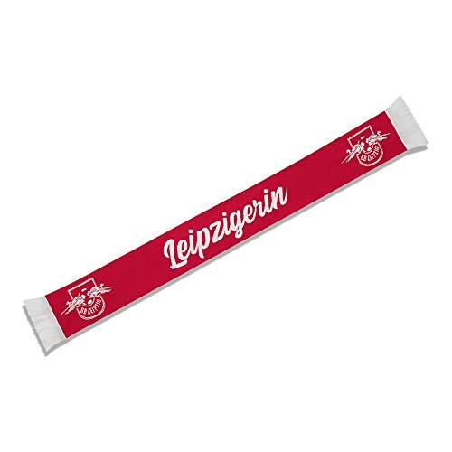 RB Leipzig Leipzigerin Schal, Rot Unisex One Size Halstuch, RasenBallsport Leipzig Sponsored by Red Bull Original Bekleidung & Merchandise