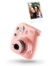 instax mini 9 Clear camera plus 10 shots, Clear Pink