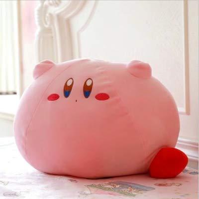 siqiwl Peluche Kawaii Kirby Star Juguete De Felpa Bolsa con Cordón Monedero Máscara De Ojos para Dormir Almohada Kirby Cojín Muñeca De Dibujos Animados Regalo De Cumpleaños para Niñas