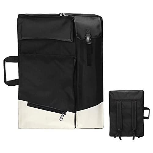 Changronghseng Künstler Portfolio Tasche Große 4K Kunsttasche Transporttasche Rucksack für Zeichenbrett Tragetasche für Zeichenplatten Multifunktionale Künstlermappe für Zeichnung Künstler Malerei