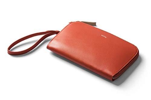 Bellroy Clutch, Damen Leder Tasche Handtasche oder Geldbörse (für 9+ Karten, Bargeld, Smartphone, kleine persönliche Dinge) - Tangelo