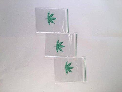 100x Farbige Druckverschlussbeutel 50x 50(Jamaika Gras) (1000)