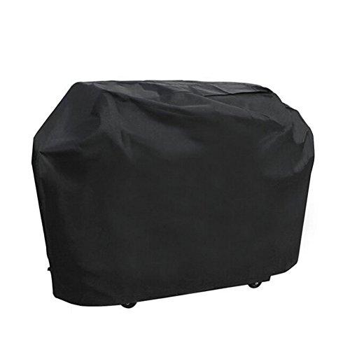 Grillabdeckung, wasserdicht & Staubdicht & Anti-UV Outdoor BBQ Grill, Anti-Aging-Umweltschutz Langlebig Oxford Tuch, Garten Terrasse Grill Displayschutzfolie mit Reinigungstuch Tasche