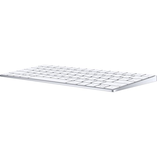 Apple Wireless Magic Keyboard 2, Silver (MLA22LL/A) - (Renewed)