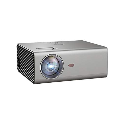 Regen stad Kleine Draadloze Projector met 130 Inch Projectie Scherm 2200 Lumens Wifi Projector Kan Verbinding maken met TV Box, Game Machine Ondersteunt Audio Out HDMI USB VGA