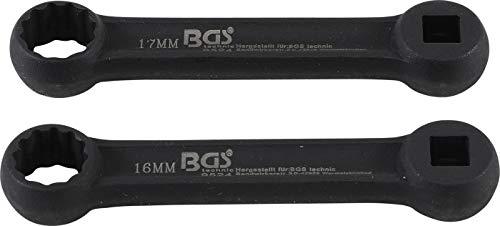 BGS 9524 | Motorlager Ringschlüssel-Satz | für Mercedes-Benz | 2-tlg.