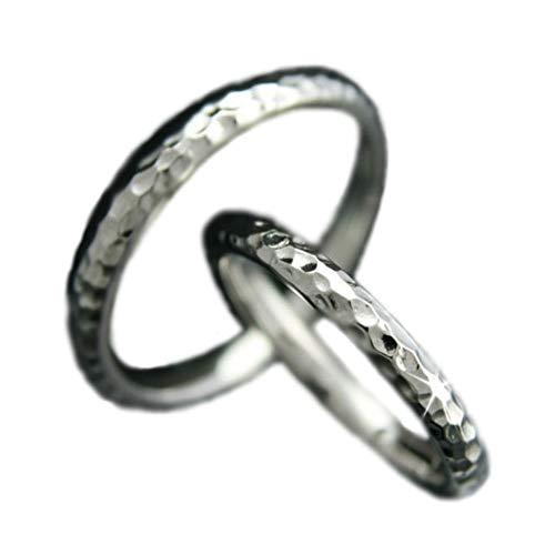 [ココカル]cococaru ペアリング プラチナ 結婚指輪 Pt900 2本セット マリッジリング 日本製 (レディースサイズ14号 メンズサイズ7号)
