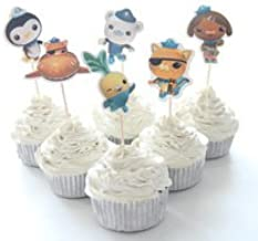 Octonauts Cupcake Toppers Birthday Party Supplies Favors Pack of 24