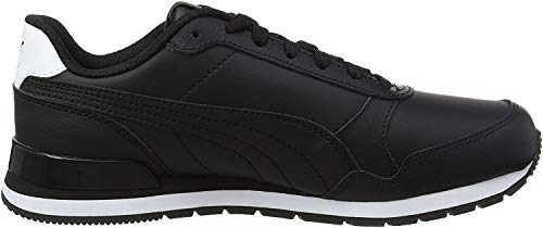 Puma Unisex-Erwachsene ST Runner v2 Full L Sneaker, Schwarz Black Black 02, 43 EU