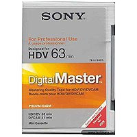 Cheapest Prices! DigitalMaster Mini 63 Minutes HDV, 41 Minutes DVCAM