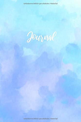 Journal: Notizbuch A5 Dotted: Dot Grid Notebook - Journal gepunktet - 120 Punktraster Seiten - Blanko Heft Für Bullet Journaling- Softcover - Blau