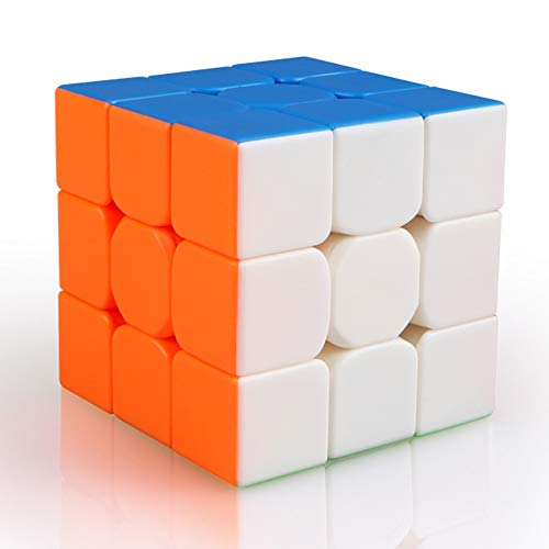 Qiyi Warrior S Speed Cube 3x3-(Qiyi Warrior W Updated Version)- Stickerless Magic Cube 3x3x3 Puzzles Toys, The Most Educational Toy to Effectively Improve Children