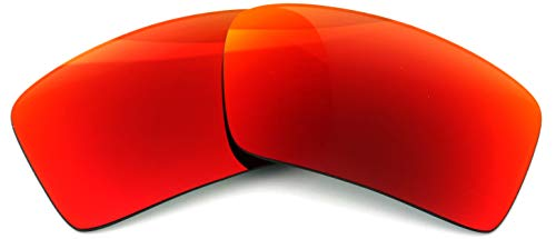 IKON LENSES Polarized Replacement for Oakley Eyepatch 2 Sunglasses - Red Mirror