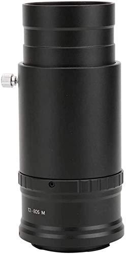 Space Telescope Birthday 2 Pulgadas Tubo de extensión de Ocular, M42X0.75 Montaje de Rosca a SLR Anillo convertidor Adaptador Desmontable para conectar telescopio astronómico a cámara SLR, M4 / 3