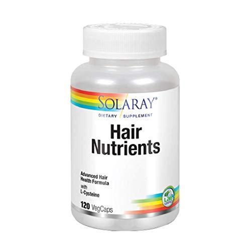 Hair Nutrients 120 cápsulas de Solaray
