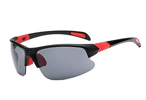 Tyke uv protection Sports Sunglasses for men's/womens Cycling/bike/biking/mountain bike(mtb) fishing golf motorcycle bicycle running sport polarized glasses for men/women (Black & Red)
