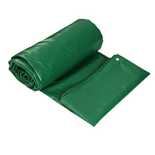 wasserdichte Plane Planen Pavillon Camping Winddicht PVC-doppelseitiges Verdickungs-Regen DREI Planen-Dach-im Freienisolierung ZHAOFENGE (Color : ArmyGreen, Size : 2 * 1.5)