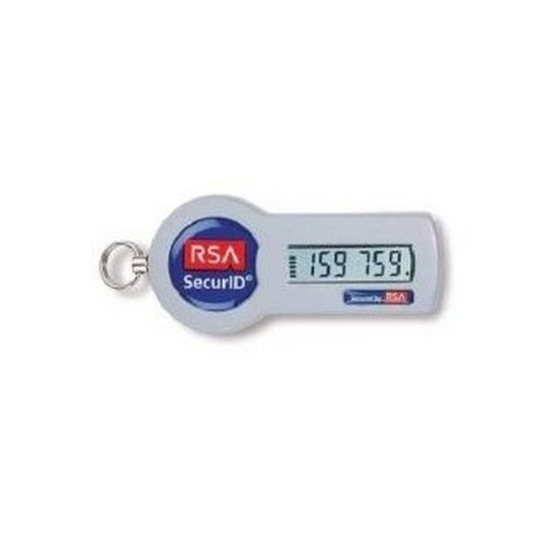RSA SecurID Authenticator SID700 10 Pack Key Fob 2 Years SID700-6-60-24-10