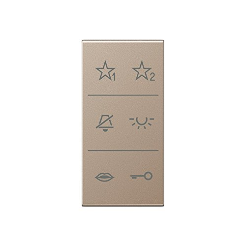 Jung–Deckel Serigrafia für Taster-Modul Audio Serie AS/A Sekt