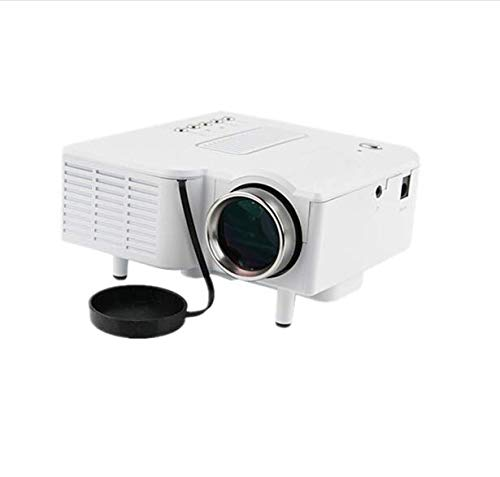 Mini Projector, 4500 LUX Portable Video Projector with 45000 Hrs LED Lamp Life, Full HD 1080P Supported, Compatible with TV PS4, K-2,HDMI, VGA