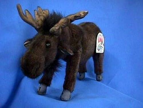 Woodland Medium Moose Stuffed Animal by Hansa