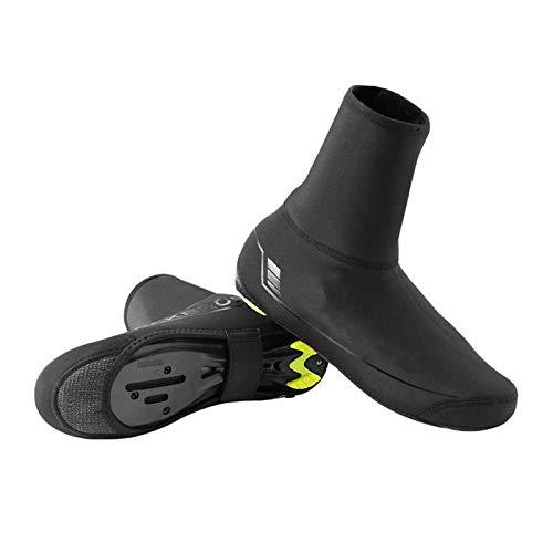 TEET Cubrezapatos de ciclismo Cubiertas de zapatos resistentes al viento Impermeable Invierno Cálido Botas de Caminar Protección MTB Bicicleta de carretera