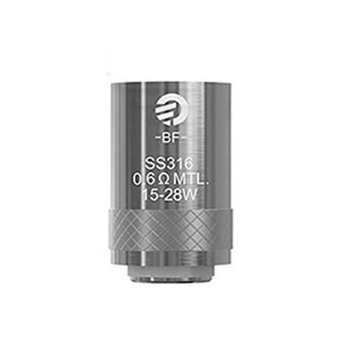Joyetech Cubis BF NI/TI/SS316/Clapton Verdampferköpfe 0.2/0.5/0.6/1.0/1.5 Ohm 5er Pack, Zubehör/Widerstand:0.6 Ohm
