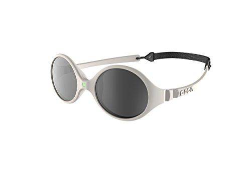 Ki ET LA – Gafas de sol para Bebé modelo Diabola – 100% irrompibles - color Crema – 0-18 meses