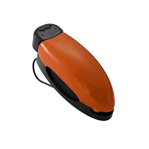 Soporte Gafas Coche Materiales De Alta Calidad MultifuncióN Porta Gafas Para Coche FáCil De Instalar Flexible Porta Gafas De Sol FOR Parasol De Coche Orange,One Size
