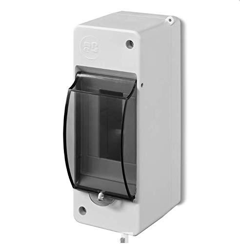 ELEKTRO-PLAST SB-122 x, Blanco, (BxHxT): 53x141x83 mm
