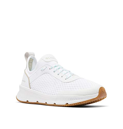 Columbia Summertide, Zapatillas para Caminar para Mujer, Piedra Oscura Blanca, 37 EU