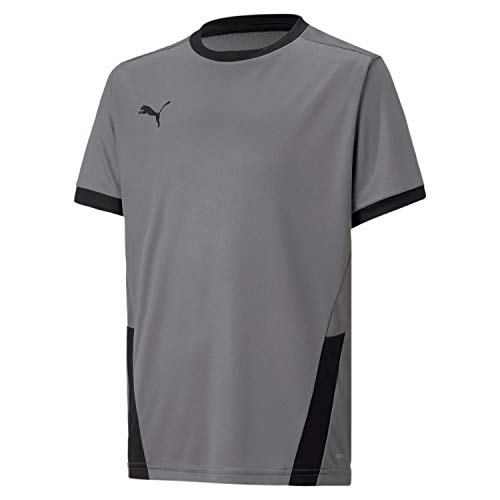 PUMA Kinder teamGOAL 23 Jersey jr Trikot, Steel Gray Black, 164