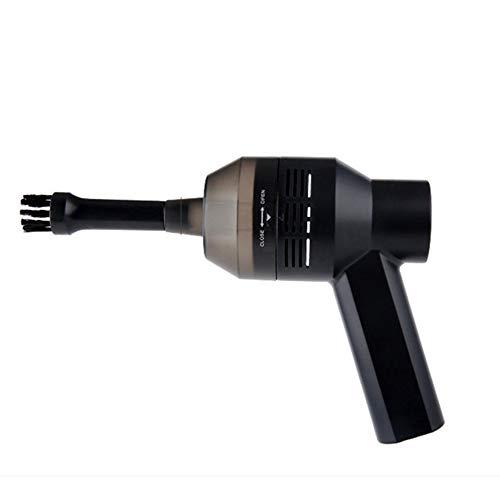 HUIHUAN Teclado Aspirador Portátil USB Recargable Mini Coche eléctrico Aspirador TV Satélite...