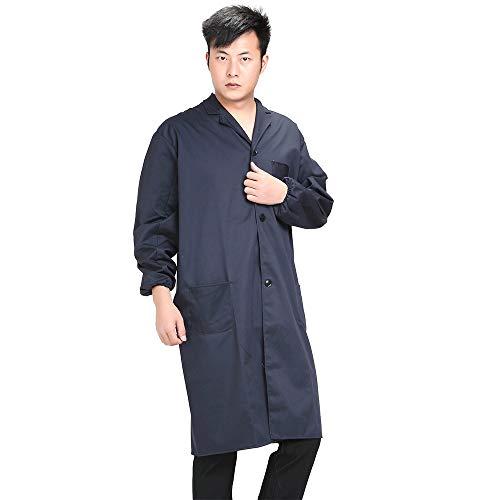 KINDOYO Arbeitskleidung Set - langärmelige Arbeitskleidung Werbung Schutzkleidung blau große Lange Kleidung erhöhen Dicke Handhabung Kleidung, Navy blau